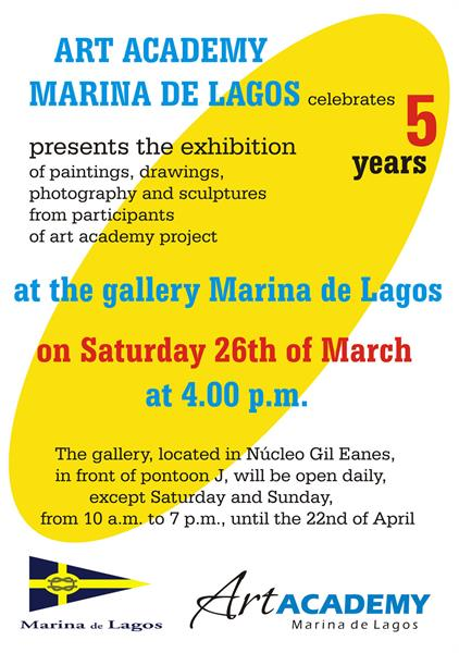 Art Academy Marina de Lagos celebrates 5th year of activities