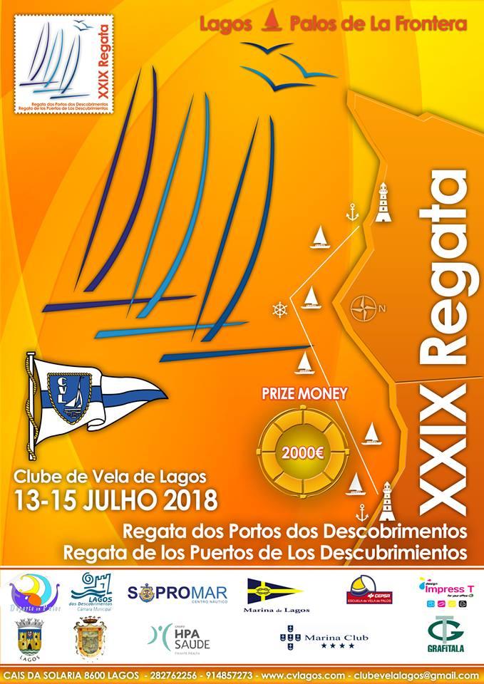 XXIX Regata dos Portos dos Descobrimentos / Lagos – Palos de La Frontera