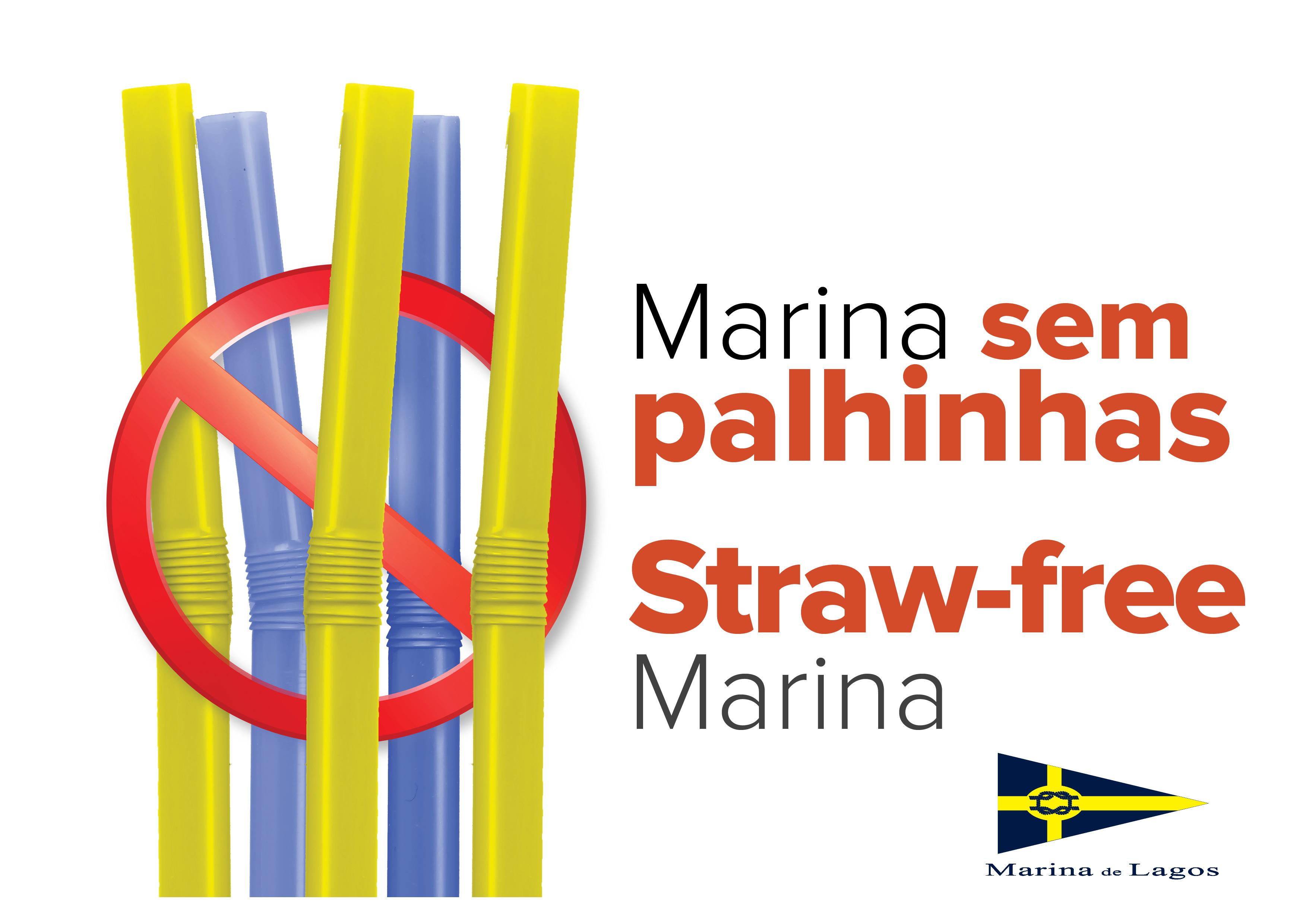 Marina de Lagos pretende tornar-se a primeira marina no mundo sem palhinhas de plástico
